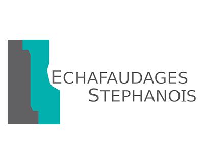 Échelle-double-caged'escalier-échafaudages-stéphanois