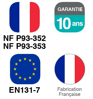 Norme, Garantie, Fabrication