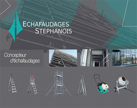 catalogue echafaudages stephanois